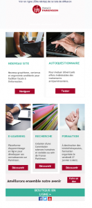 newsletter france parkinson