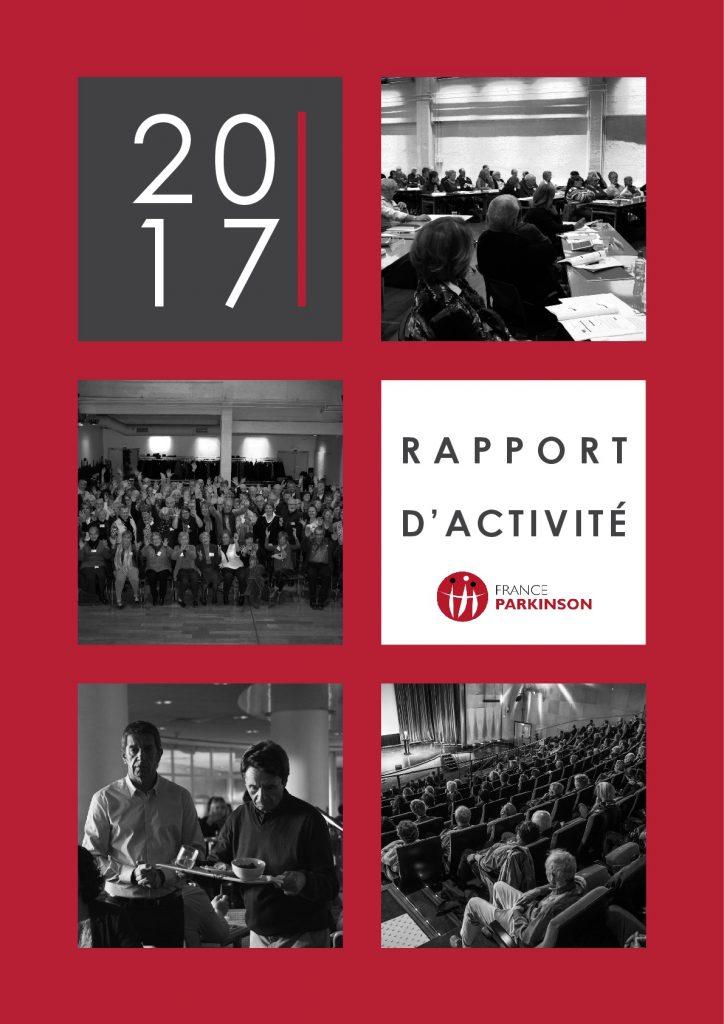 France Parkinson Rapport d'activité 2017 COUVERTURE